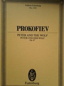 Partitur - Peter och vargen
