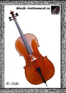 Cello, bild från Musik-instrument.se