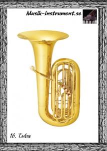 Tuba, bild från Musik-instrument.se