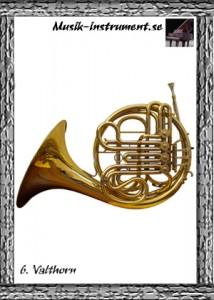 Valthorn, bild från Musik-instrument.se