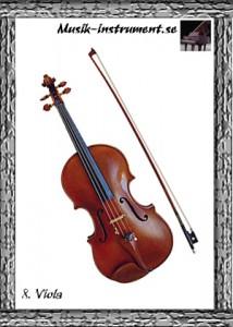 Viola, bild från Musik-instrument.se