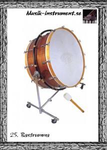 Bastrumma, bild från Musik-instrument.se