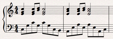 Ackompanjerande instrument - ackompanjemang