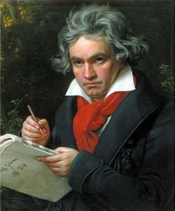 Beethoven - välrepresenterad i spellistor med klassisk musik på Spotify