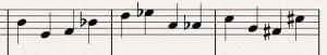 Notrad - tolvtonsmusik